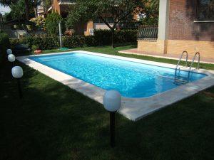 Appia piscina in vetroresina